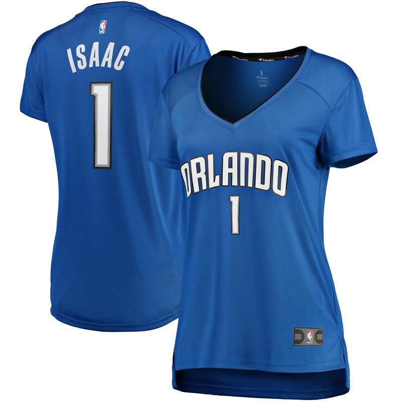 Jonathan Isaac Orlando Magic Fanatics Branded Women's Fast Break Replica Player Jersey - Icon Edition - Blue