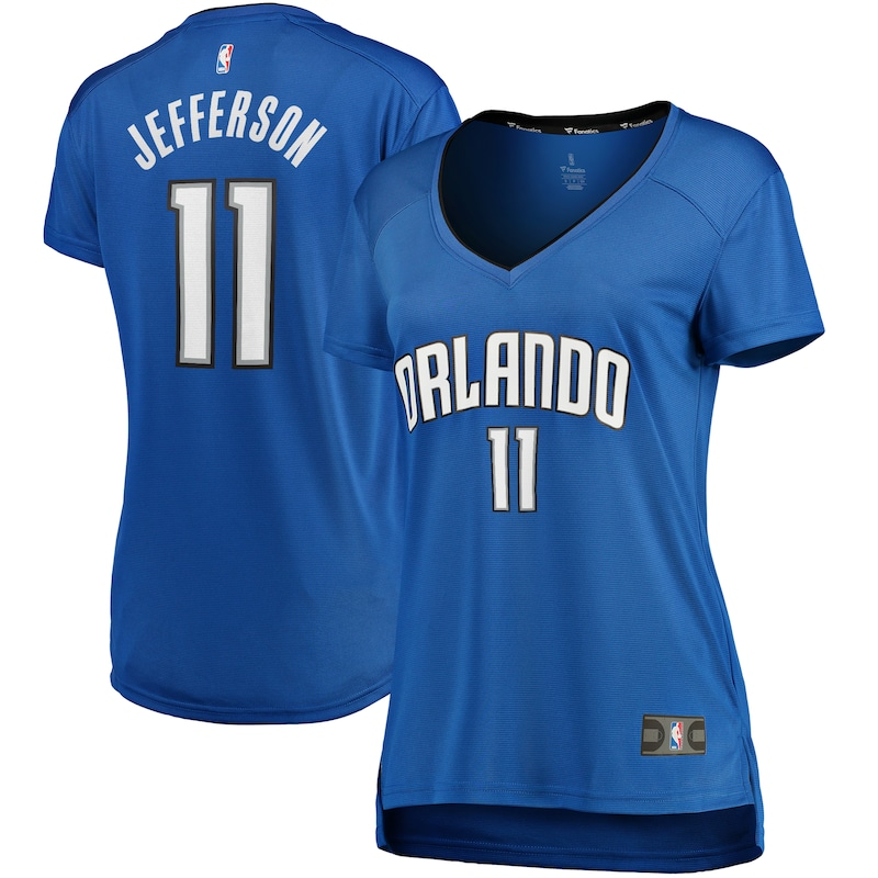Amile Jefferson Orlando Magic Fanatics Branded Women's Fast Break Replica Player Jersey - Icon Edition - Blue