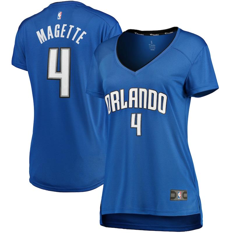 Josh Magette Orlando Magic Fanatics Branded Women's Fast Break Replica Player Jersey - Icon Edition - Blue