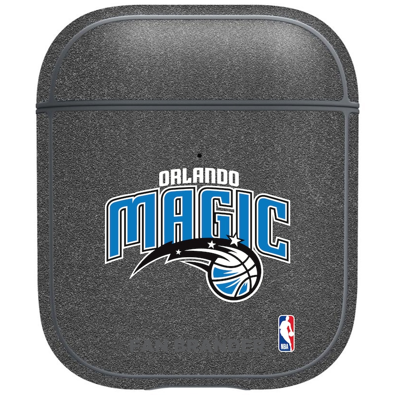 Orlando Magic Air Pods Metallic Case - Gray