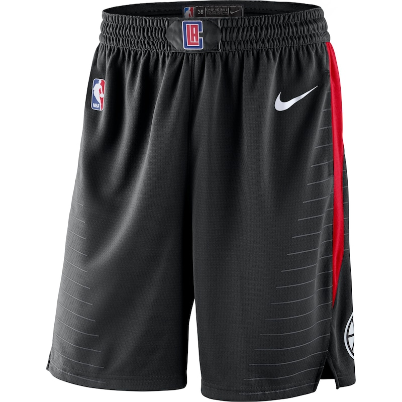 LA Clippers Nike 2019/20 Statement Edition Swingman Shorts - Black