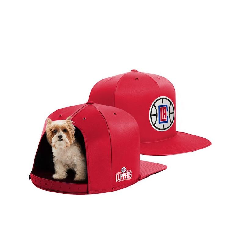 LA Clippers Small Pet Nap Cap - Red