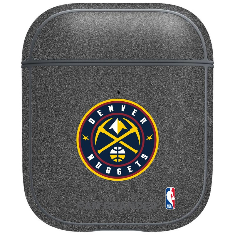 Denver Nuggets Air Pods Metallic Case - Gray