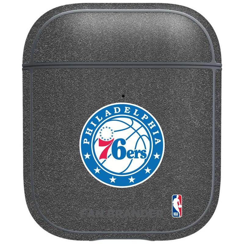 Philadelphia 76ers Air Pods Metallic Case - Gray