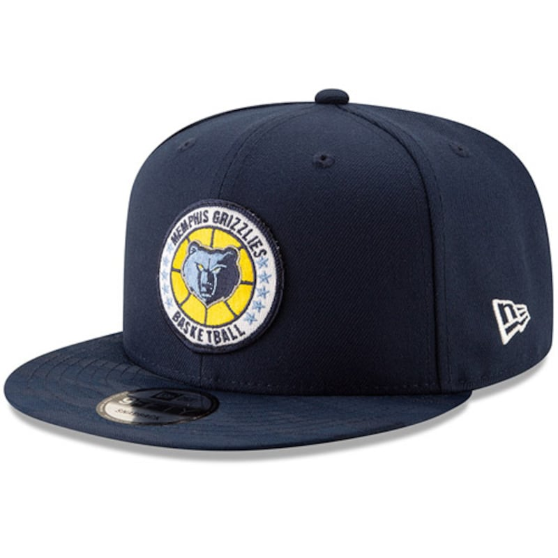 Memphis Grizzlies New Era 2018 Tip-Off Series Team 9FIFTY Adjustable Hat - Navy