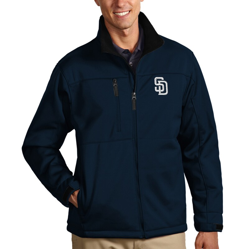 San Diego Padres Antigua Traverse Full-Zip Jacket - Navy
