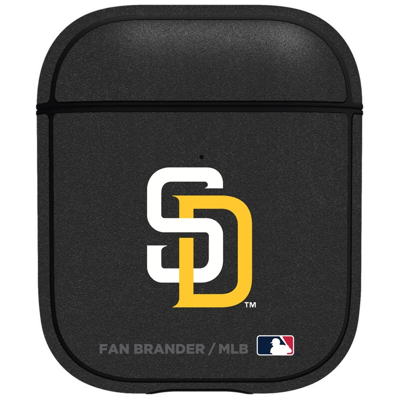 San Diego Padres Air Pods Metallic Case - Black
