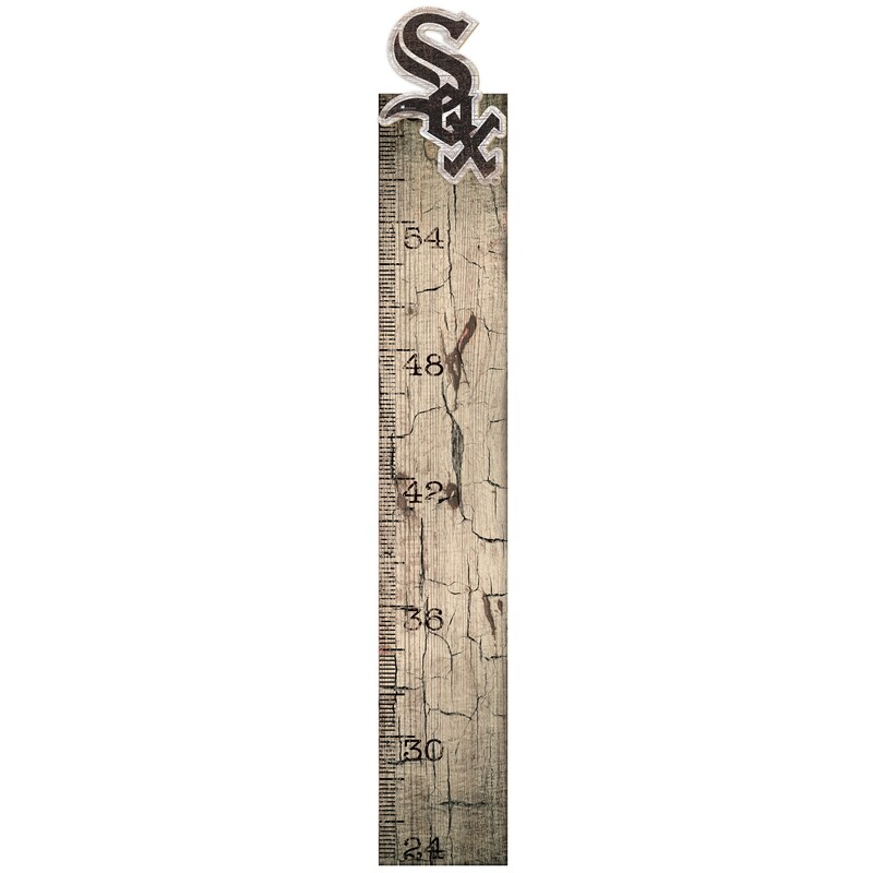 """Chicago White Sox 6"""" x 36"""" Growth Chart Sign"""