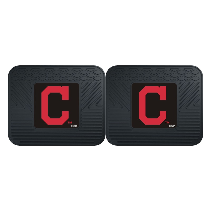 Cleveland Indians 2-Pack Utility Mat Set