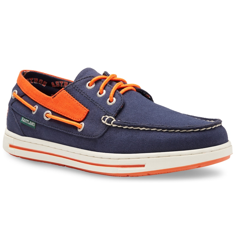 Houston Astros Eastland Adventure Boat Shoes - Navy