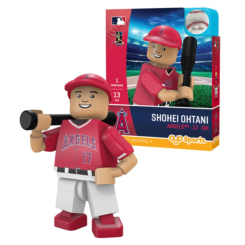 Designated Hitter Shohei Ohtani Los Angeles Angels OYO Sports Player MLB Minifigure
