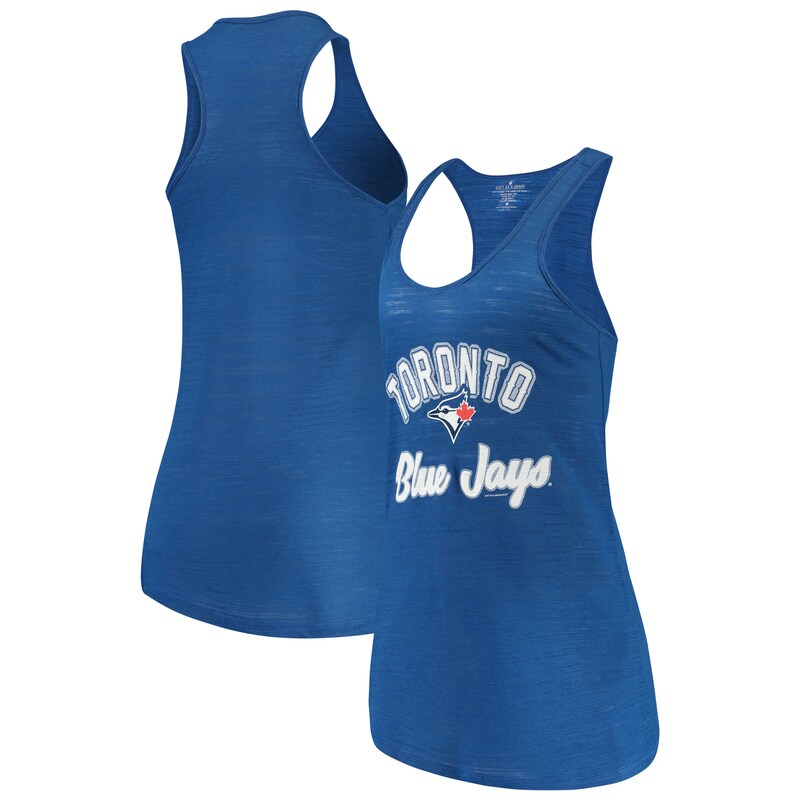 Toronto Blue Jays Soft as a Grape Women's Multicount Racerback Tank Top - Royal
