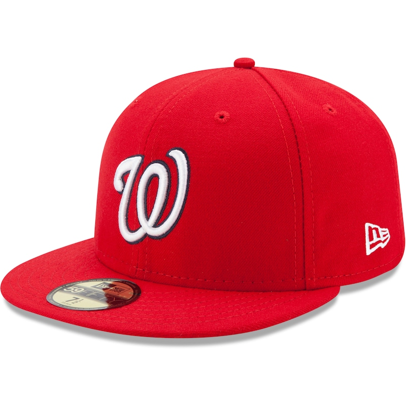 Washington Nationals New Era Game Authentic Collection On-Field 59FIFTY Fitted Hat - Red