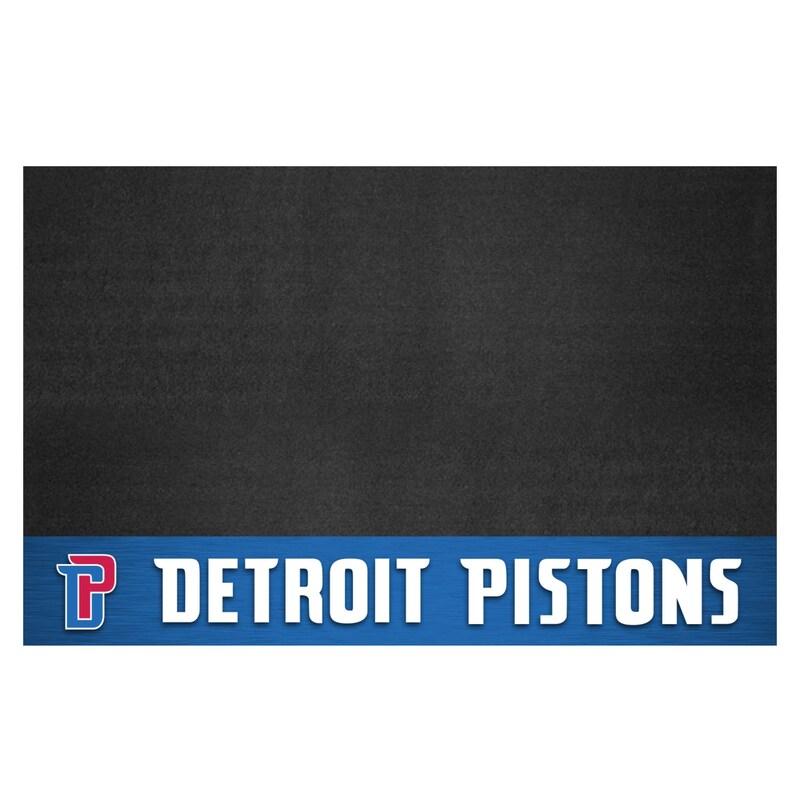 "Detroit Pistons 26"" x 42"" Grill Mat"