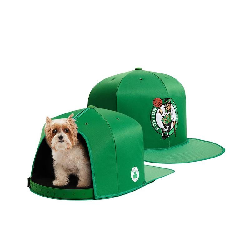 Boston Celtics Small Pet Nap Cap - Green