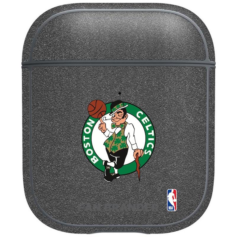 Boston Celtics Air Pods Metallic Case - Gray