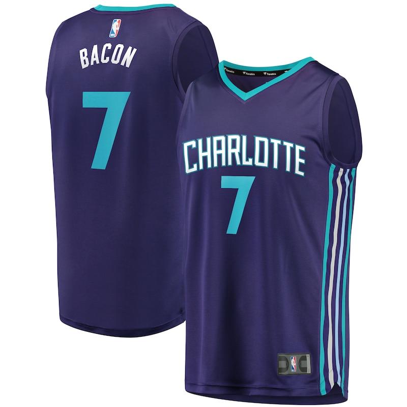 Dwayne Bacon Charlotte Hornets Fanatics Branded Youth Fast Break Replica Player Jersey - Statement Edition - Purple