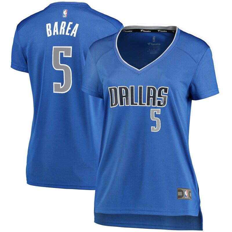 J.J. Barea Dallas Mavericks Fanatics Branded Women's Fast Break Player Jersey - Icon Edition - Blue
