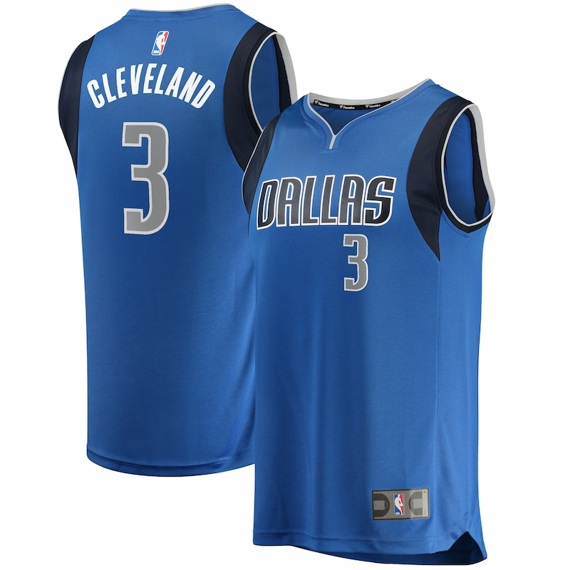 Antonius Cleveland Dallas Mavericks Fanatics Branded Fast Break Player Jersey - Icon Edition - Blue