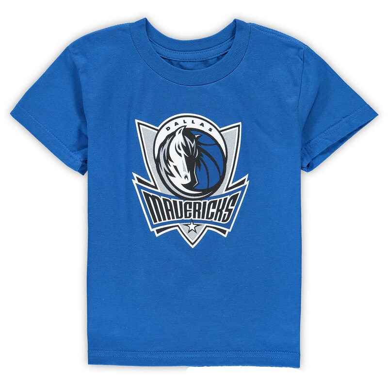 Dallas Mavericks Preschool Primary Team Logo T-Shirt - Blue
