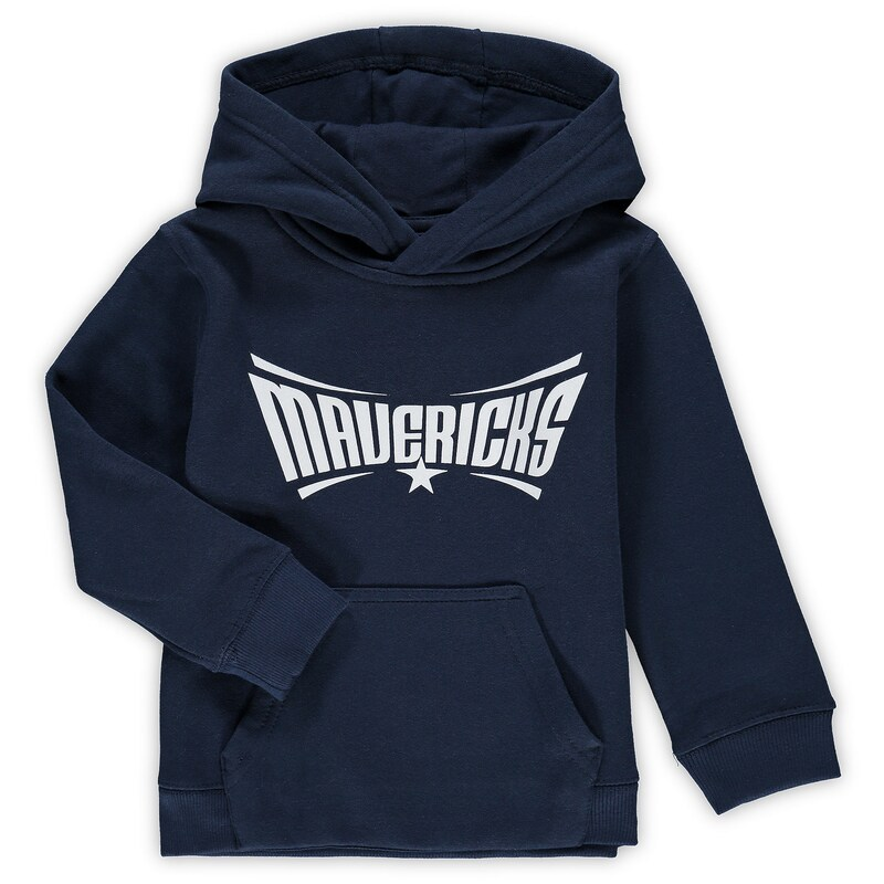 Dallas Mavericks Preschool & Toddler Primary Logo Pullover Hoodie - Navy