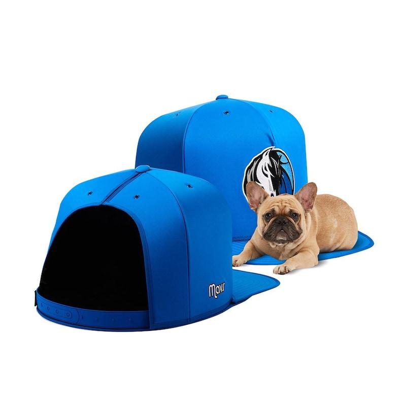 Dallas Mavericks Medium Pet Nap Cap - Royal