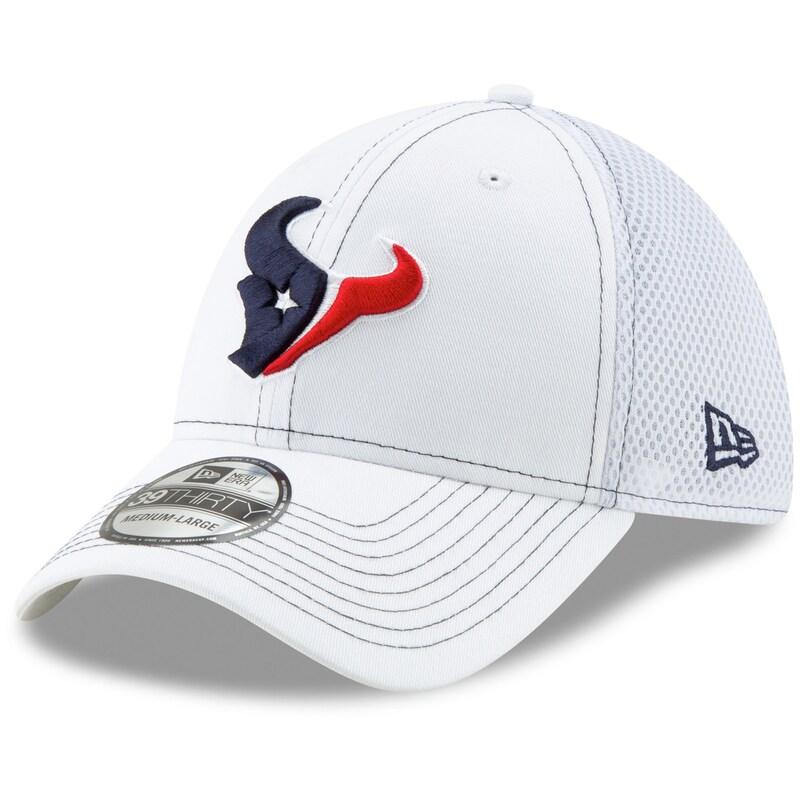 Houston Texans New Era Team Neo 39THIRTY Flex Hat - White