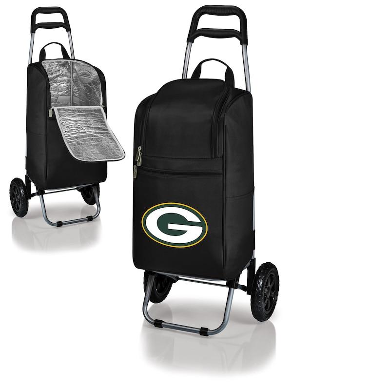 Green Bay Packers Cart Cooler - Black