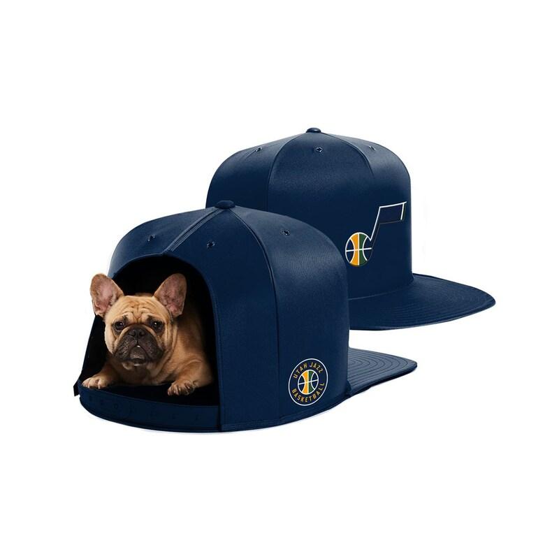 Utah Jazz Medium Pet Nap Cap - Navy