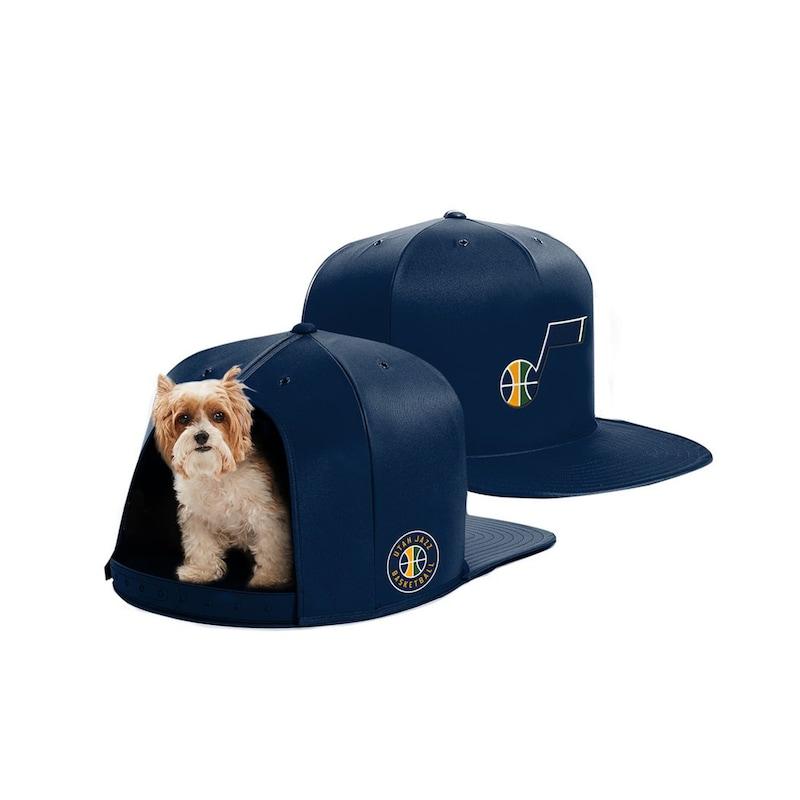Utah Jazz Small Pet Nap Cap - Navy