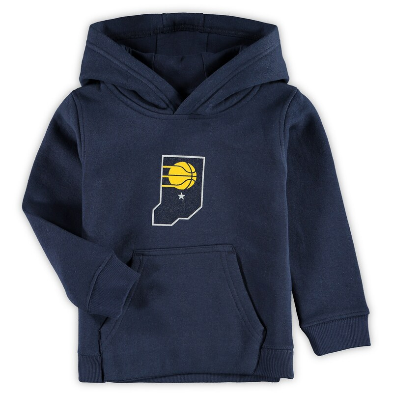 Indiana Pacers Preschool & Toddler Primary Logo Pullover Hoodie - Navy