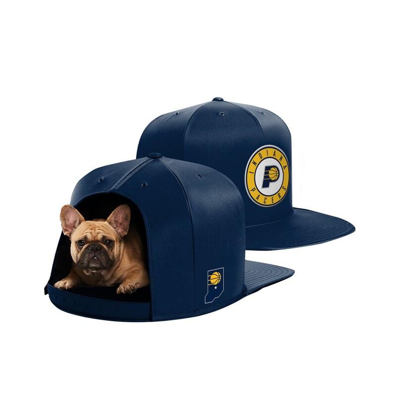 Indiana Pacers Medium Pet Nap Cap - Navy