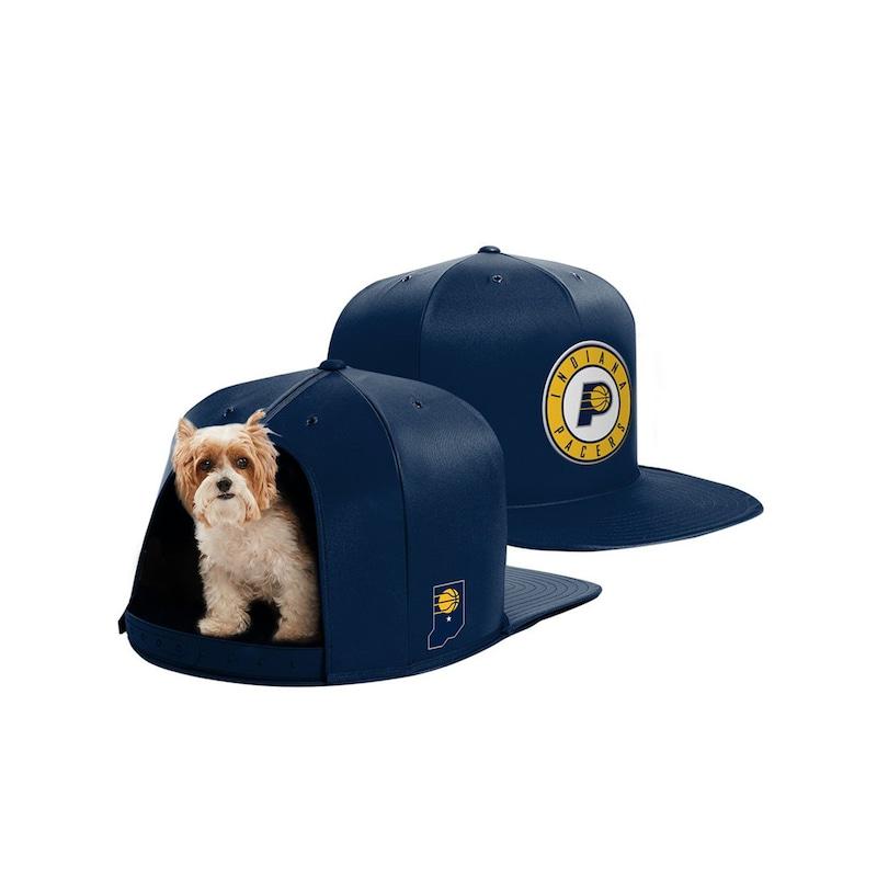 Indiana Pacers Small Pet Nap Cap - Navy
