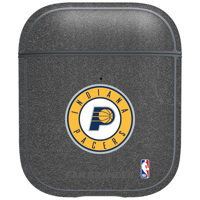 Indiana Pacers Air Pods Metallic Case - Gray