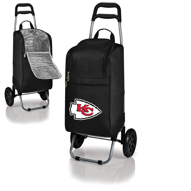 Kansas City Chiefs Cart Cooler - Black -