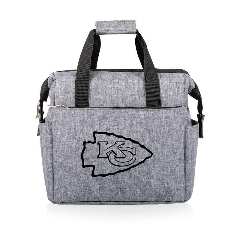 Kansas City Chiefs Lunch Cooler - Gray