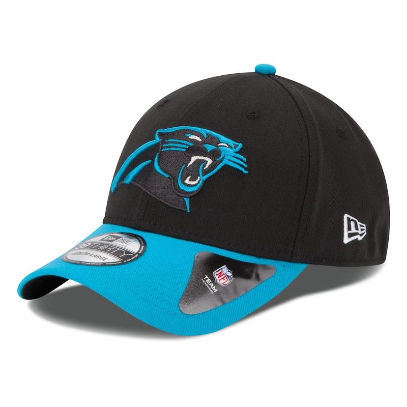 Carolina Panthers New Era 39THIRTY Team Classic Flex Hat - Black
