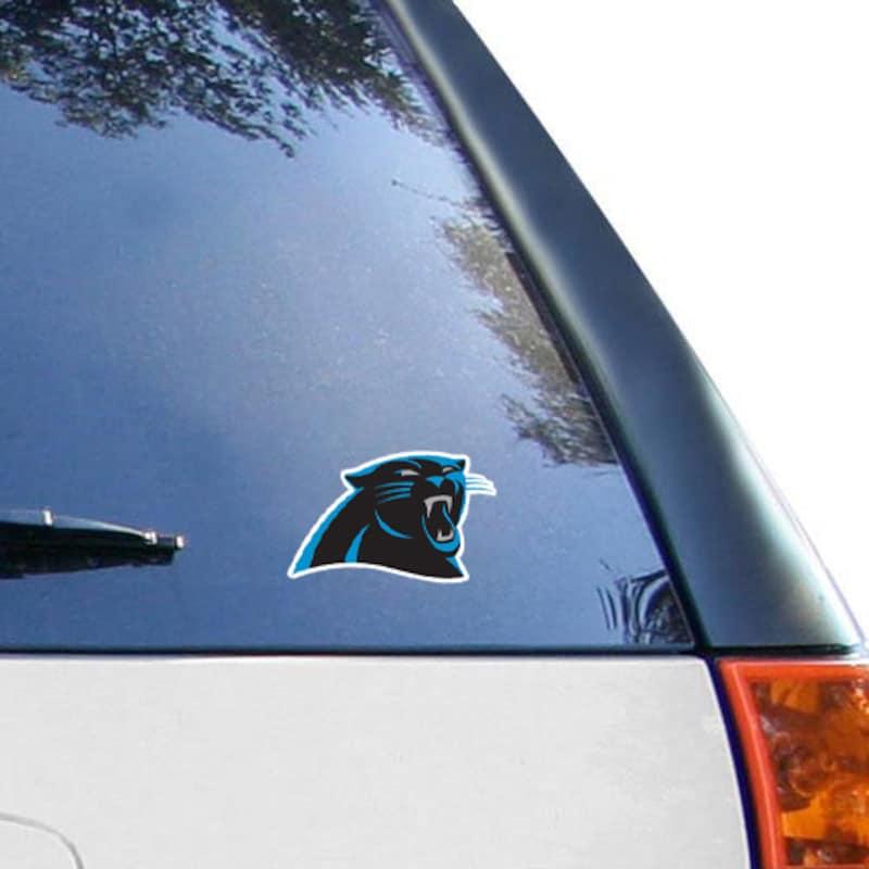 """Carolina Panthers WinCraft Logo 4"""" x 4"""" Color Perfect Cut Decal"""