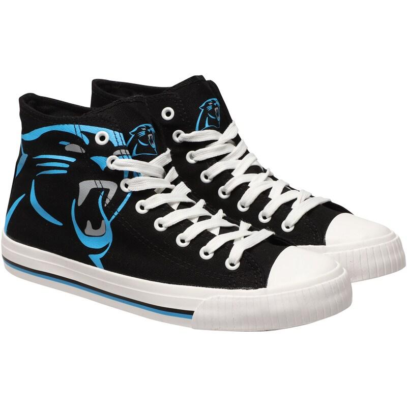 Carolina Panthers Big Logo High Top Sneakers