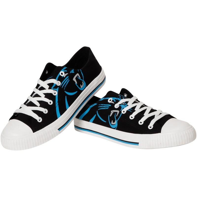 Carolina Panthers Big Logo Low Top Sneakers