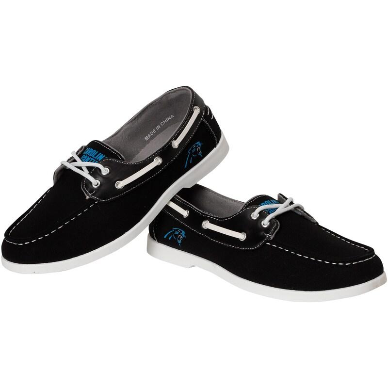 Carolina Panthers Side Logo Slip-On Canvas Shoe