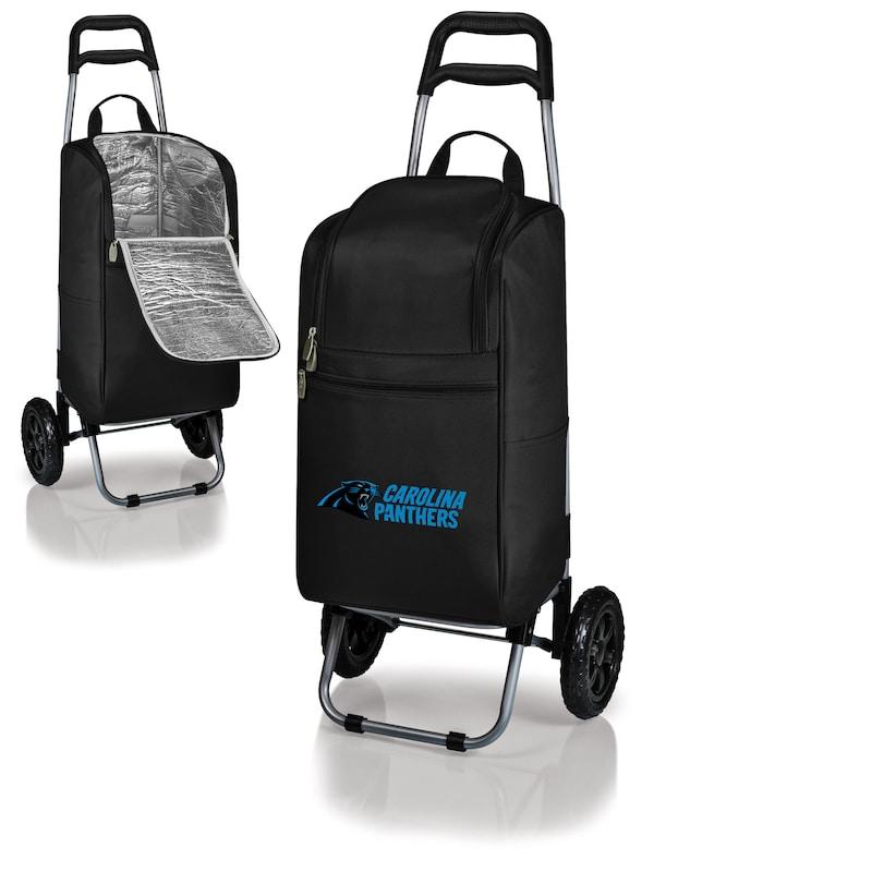 Carolina Panthers Cart Cooler - Black