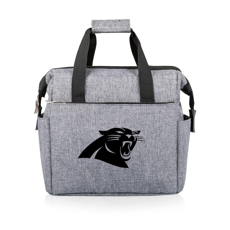 Carolina Panthers Lunch Cooler - Gray