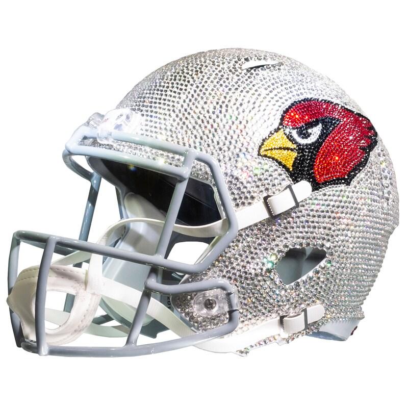 Arizona Cardinals Crystal Helmet