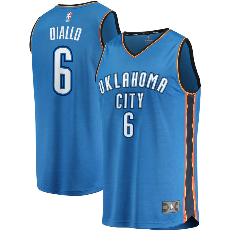 Hamidou Diallo Oklahoma City Thunder Fanatics Branded Fast Break Replica Jersey - Icon Edition - Blue