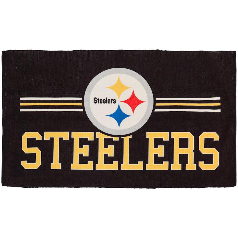 Pittsburgh Steelers 3' x 5' Indoor/Outdoor Rug