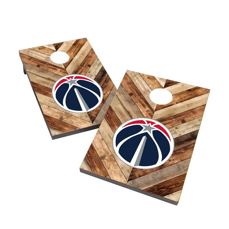Washington Wizards 2' x 3' Cornhole Board Tailgate Toss Set