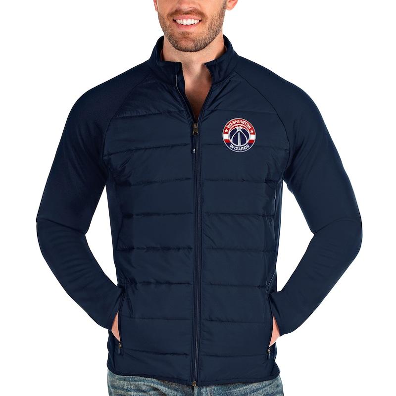 Washington Wizards Antigua Altitude Full-Zip Jacket - Navy