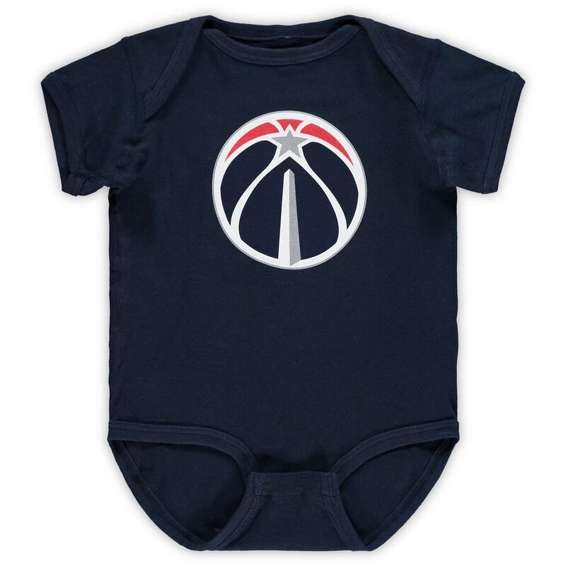 Washington Wizards Infant Primary Team Logo Bodysuit - Navy