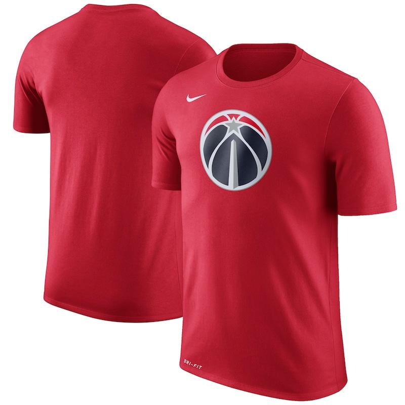 Washington Wizards Nike Logo T-Shirt - Red